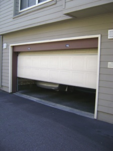 sectional bespoke garage door