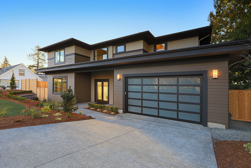 Modern style - Garage door prices guide